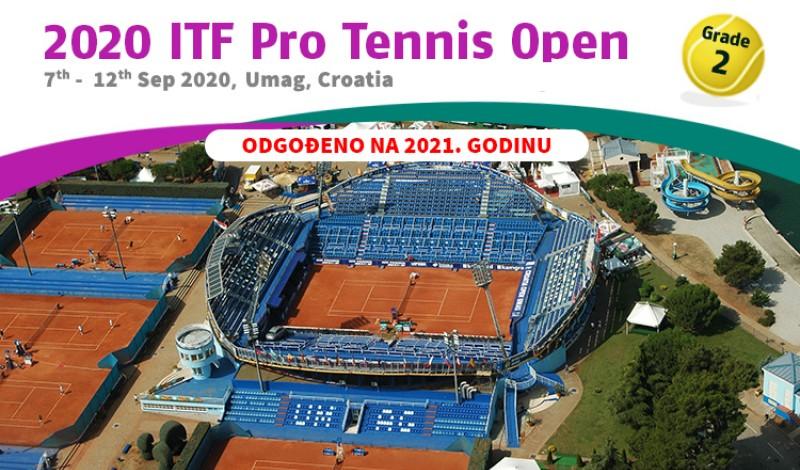 2020 ITF Pro Tennis Open, Grade 2, Umag, Croatia