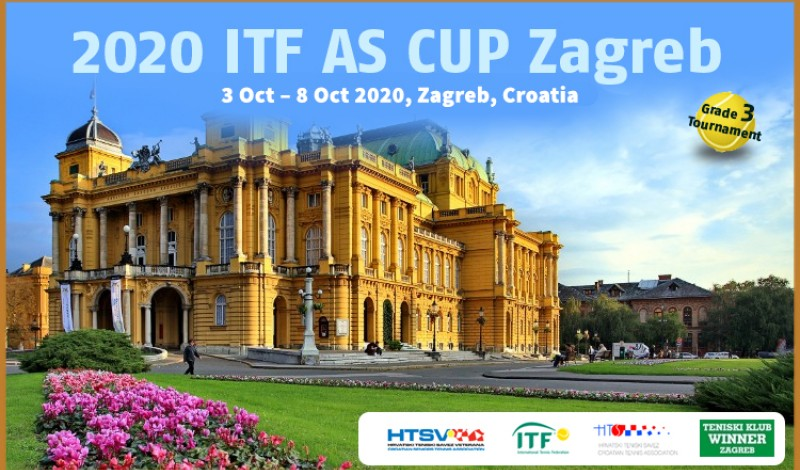 2020 ITF AS CUP Zagreb, Grade 3
