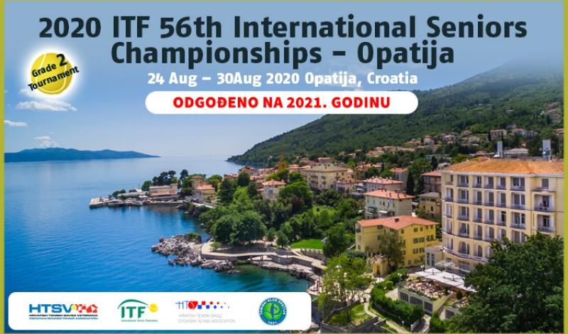 2020 ITF 56th International Seniors Championships -Opatija
