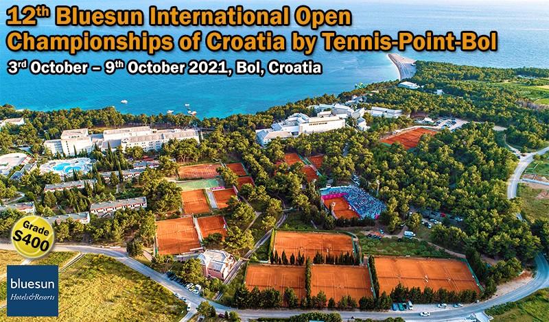 12th Bluesun International Open Championships of Croatia by Tennis-Point-Bol