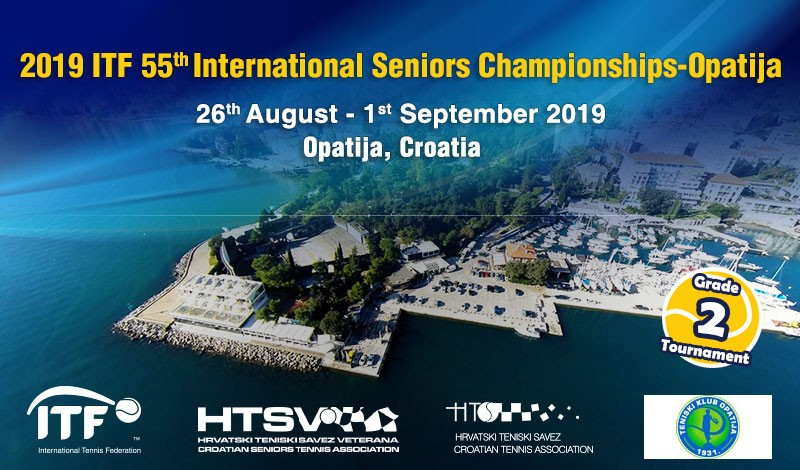 2019 ITF 55th International Seniors Championships-Opatija