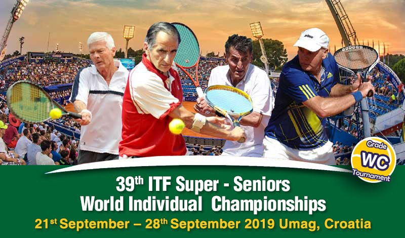 39th ITF Super-Seniors World Individual Championships