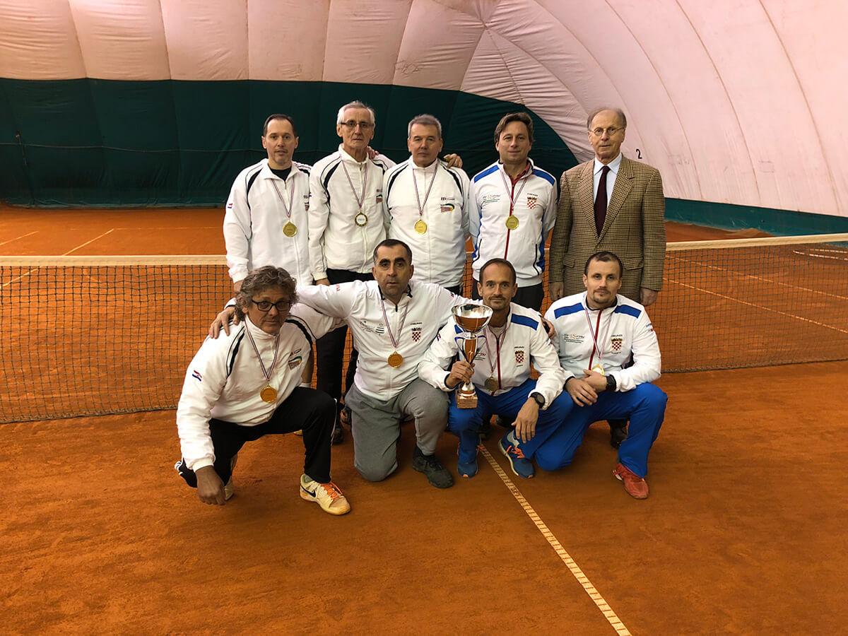 TK Tenax, Zagreb, pobjednik, momčadsko prvenstvo Hrvatske 2017